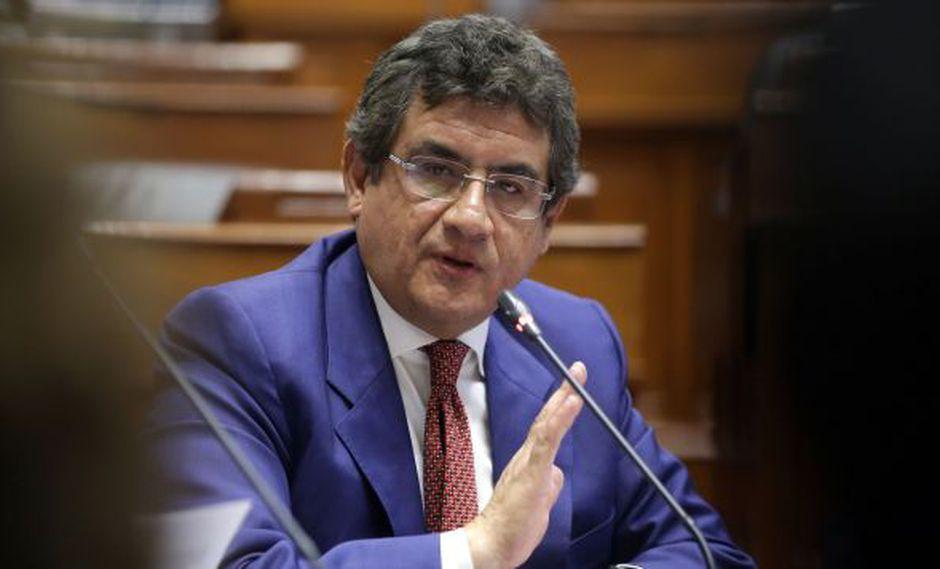 """""""El hecho de que habrá agenda, reuniones con ministros, coordinación, demuestra que yo tenía razón, porque nada de eso había"""", dijo Juan Sheput. (Foto: Congreso)"""