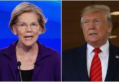 Los ataques a Warren y el juicio político a Trump marcan el debate demócrata en EE.UU.