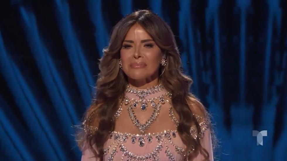 Gloria Trevi en los Latin American Music Awards 2018. (Captura de pantalla)