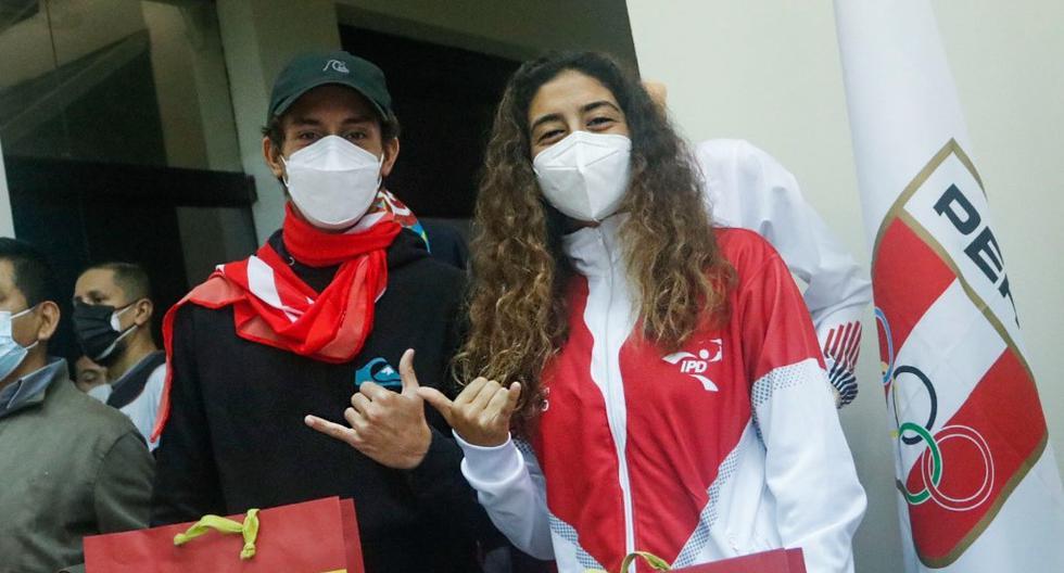 Lucca Mesinas y Daniella Rosas son los dos abanderados peruanos para la inauguración. (Foto: COP)