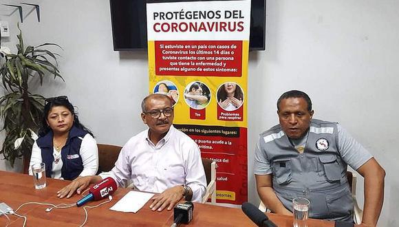 Tumbes. Gobernador regional confirmó el primer caso de Covid-19 en esta ciudad. (GEC)