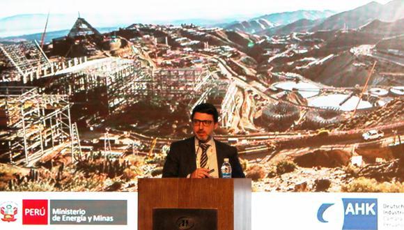 """El Viceministro de Minas del Ministerio de Energía y Minas reveló en """"Minería 4.0"""" los alcances y planes a futuro para la minería en el Perú."""