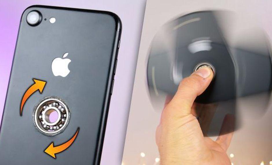 Sacrifican un iPhone 7 para convertirlo en un fidget spinner
