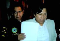 Junín: detienen a alcalde de Huáchac por presunto cobro de coima
