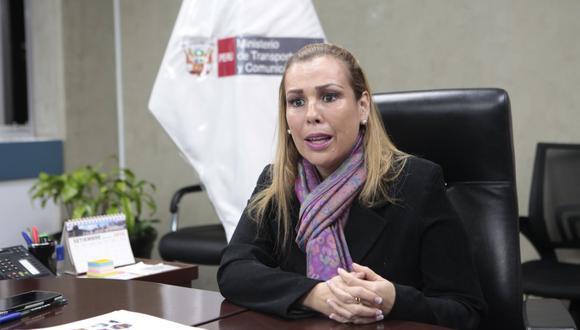 Fiorella Molinelli señaló que espera respeto de parte del Congreso de la República. (Foto: GEC)