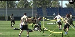 Real Madrid: mira las alucinantes ¨chalacas¨ en el fútbol tenis