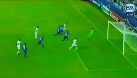El cuadro eléctrico se vio en desventaja durante la primera mitad, luego de recibir un gol de pelota parada por parte de Cruzeiro. (Foto: captura de video)