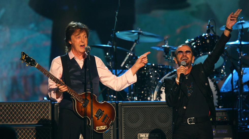 """Paul McCartney y Ringo Starr cantaron juntos """"Hey Jude"""" - 1"""