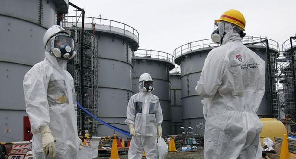 El agua radioactiva de Fukushima se almacena en tanques gigantes, pero se está acabando el espacio. (Getty Images).