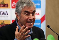 Juan Carlos Oblitas, el mejor soporte de la FPF