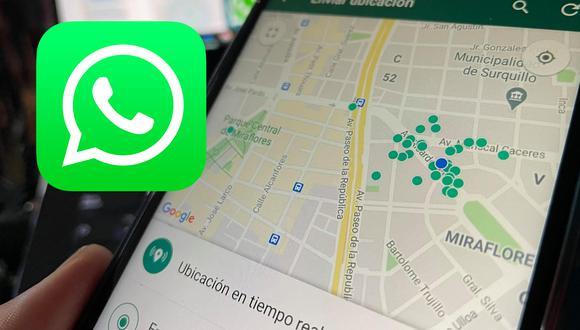 Así puedes saber dónde está tu amigo sin que te mande su ubicación de WhatsApp. (Foto: MAG)
