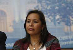 Elecciones 2021: Nidia Vílchez competirá en las internas del Apra por la candidatura presidencial