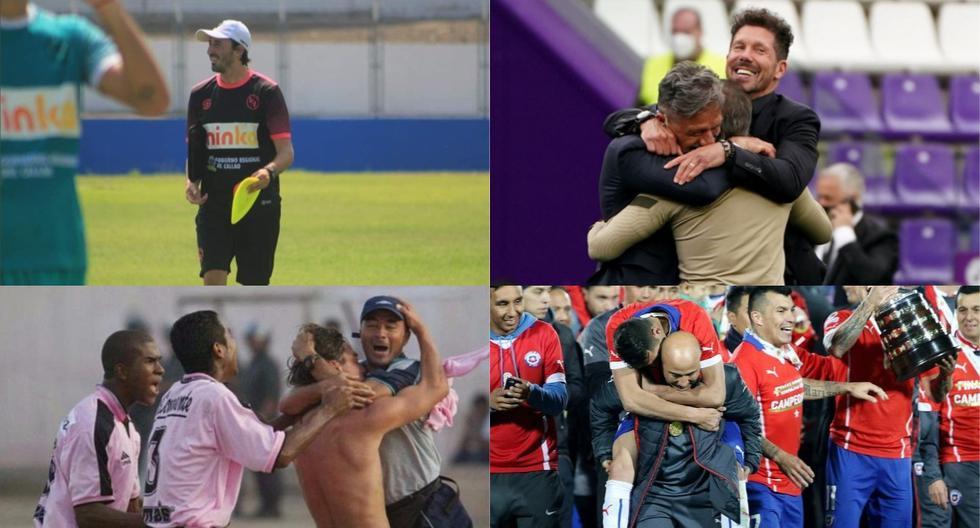 Hernán Bonvicini y Jorge Sampaoli pasaron por Sport Boys antes de triunfar en otros países. (Fotos: Archivo GEC / Agencias)