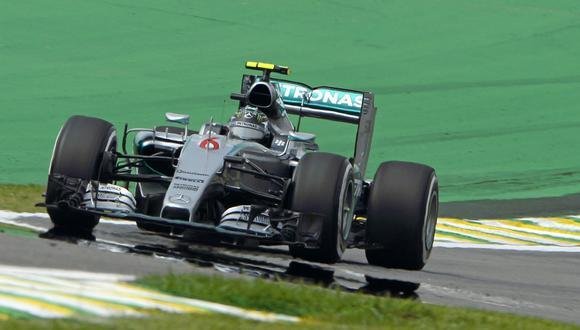 Fórmula 1: Nico Rosberg logró la pole en Brasil