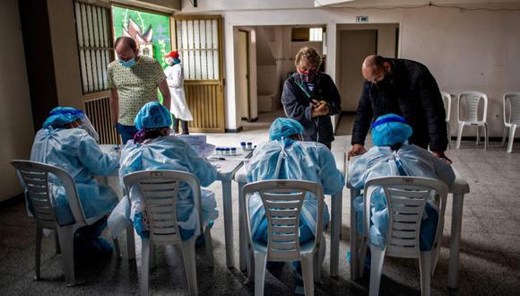 Coronavirus en Colombia | Últimas noticias | Último minuto: reporte de infectados y muertos hoy, sábado 06 de febrero del 2021 | Covid-19 | AFP / Juan BARRETO