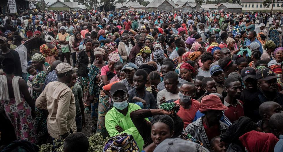 Tens of thousands of people flee the city of Goma due to the eruption of the Nyiragongo volcano in the DRC