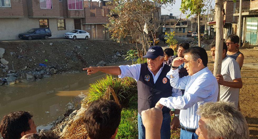 La Libertad: lluvia activa quebrada que inundó Trujillo dos años atrás. (Foto: Gobierno Regional de La Libertad)