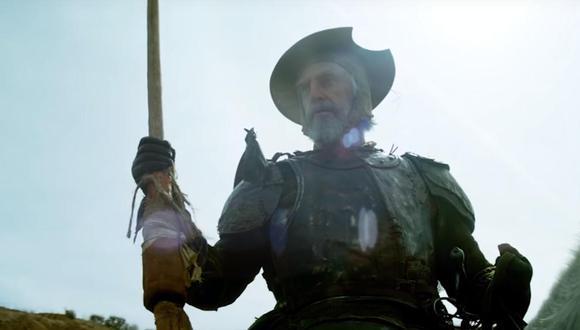 """Escena del tráiler de """"El hombre que mató a Don Quijote"""". (Foto: Captura de pantalla/ YouTube)"""
