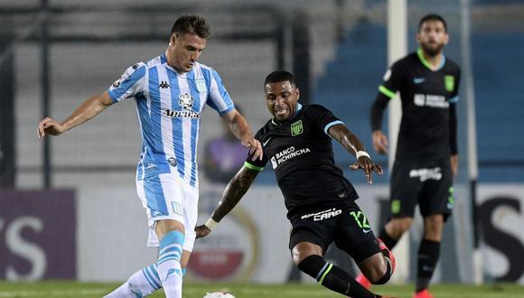 El capitán de Racing, Iván Pillud, criticó la no suspensión del fútbol en Argentina. (Foto: Agencias)