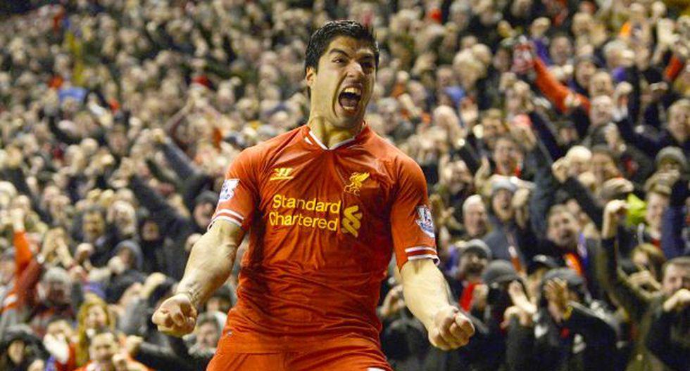 Suárez anotó un golazo y el Liverpool goleó 4-0 al Everton - 1
