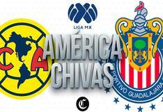 Clásico Nacional en vivo, América - Chivas online por la Liga MX