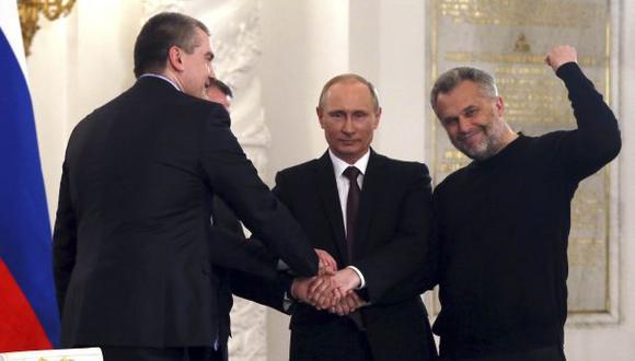 Crimea ya forma parte de Rusia