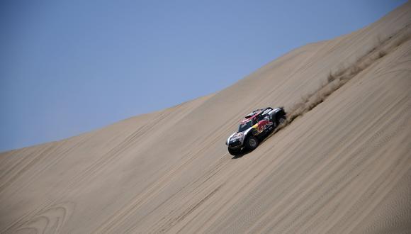 Dakar 2019: finalizó la primera etapa Pisco-Lima del rally más extremo del mundo. (Foto: AFP)