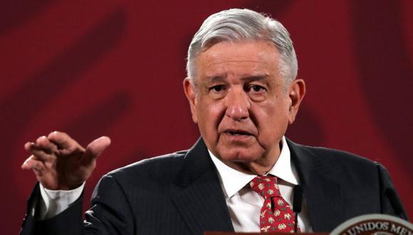 El presidente de México, Andrés Manuel López Obrador, durante una conferencia de prensa en el Palacio Nacional en la Ciudad de México, México. (Foto: REUTERS / Henry Romero).