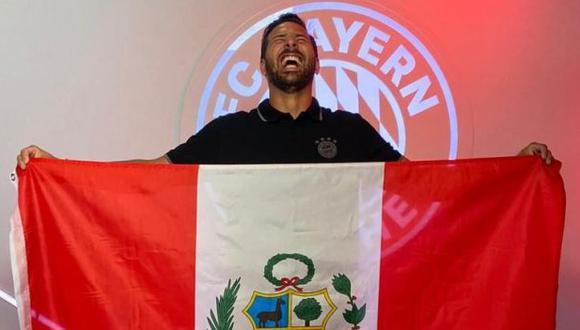 Bayern Múnich dejó su saludo por el aniversario de independencia del Perú. (Foto: Bayern Múnich)