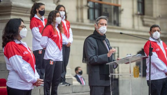 El mandatario destacó el esfuerzo de los deportistas peruanos que clasificaron a los Juegos Olímpicos de Tokio que empiezan este mes | Foto: Presidencia Perú