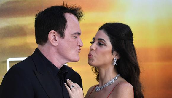 Quentin Tarantino y Daniella Pick. (Foto: EFE)