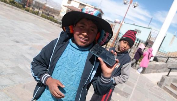 Más de 400 personas que viven en la comunidad de Salinas Huito se benefician con la llegada del internet 4G. Esto es posible gracias al proyecto Internet para Todos (IPT).