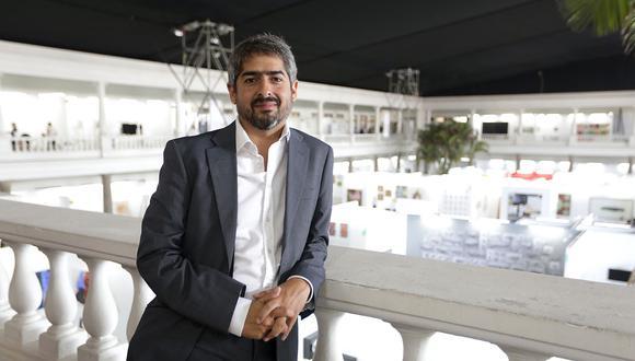 Santiago Alfaro. (Foto: Nancy Chappell/ El Comercio)