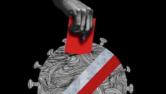"""""""¿Pero cómo hacer para ofrecer garantías de calidad y seguridad en una elección en la que se movilizarán y participarán alrededor de 25 millones de personas?"""". (Ilustración: Giovanni Tazza)"""