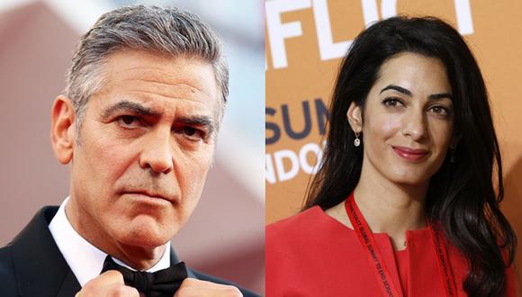 George Clooney y Amal Alamuddin se casarán en Italia