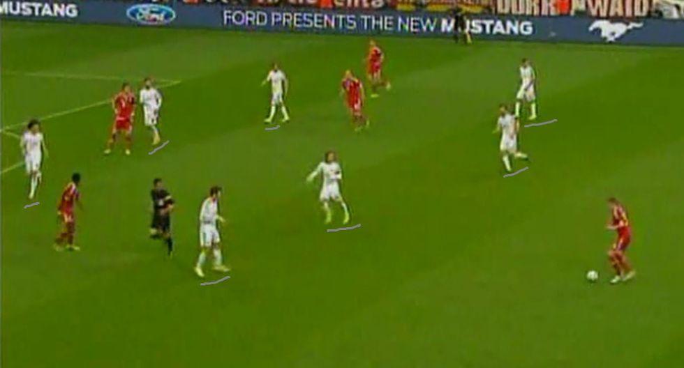 CUADROXCUADRO: así armó el Madrid una contra en 12 segundos - 1
