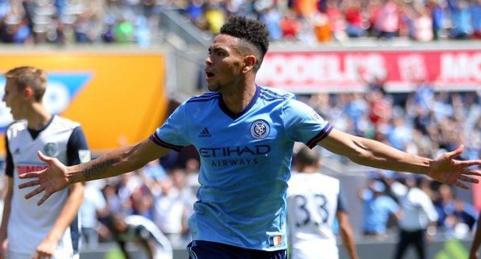 El defensor peruano, Alexander Callens, anotó de cabeza para el New York City en el empate 1-1 ante el Atlanta United por la Major League Soccer. Dicho tanto llegó a los 76 minutos del segundo tiempo. (Foto: agencias)