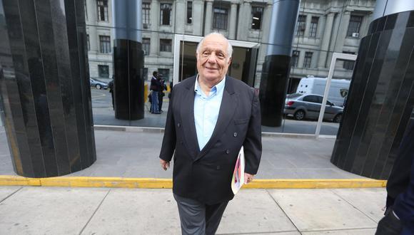 Alberto Químper Herrera era funcionario de Perupetro cuando se vio implicado en el caso 'Petroaudios'. (Foto: Archivo: Grupo El Comercio)