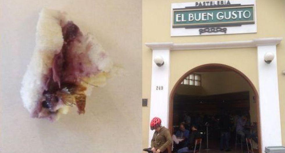 Cucaracha en sánguche:local aceptó que control de calidad falló