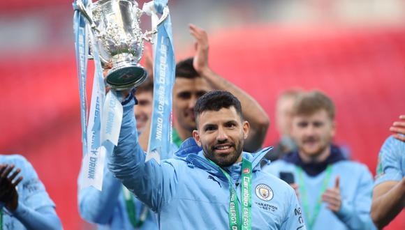 Manchester City celebra título y plantel tuvo emotivo gesto con Sergio Agüero   Foto: REUTERS