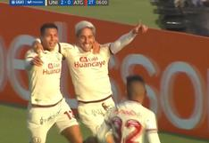 Universitario vs. Atlético Grau: Hohberg colocó el 2-0 de los cremas por la Liga 1 | VIDEO