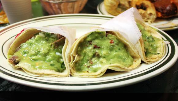 Tacos al vapor. (Veronica Flickr)