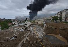 Negociaciones en Moscú para desbloquear la situación en Nagorno Karabaj