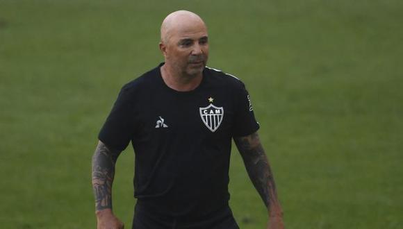 Jorge Sampaoli llegó al Atlético Mineiro a inicios del 2020. (Foto: AFP)