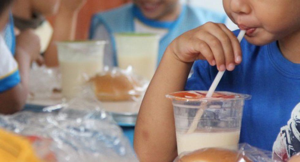 Los alimentos entregados por Qali Warma fueron para la preparación de desayunos y almuerzos escolares, informó el Midis. (Foto: Midis)