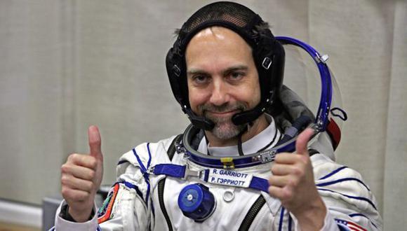 Richard viajó al espacio en 2008. La aventura le costó US$30 millones. (Foto: Getty Images)