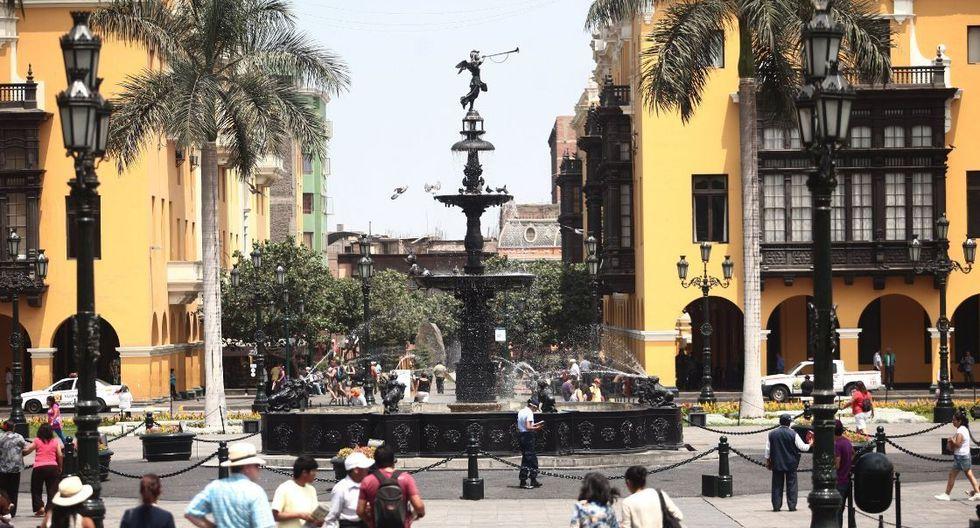 Lima cumplirá 485 años de fundación. (Foto: GEC)