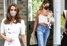 Moda y salud: así combinan sus mascarillas tus celebridades favoritas   FOTOS
