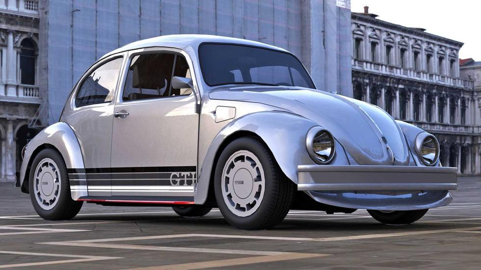 El Volkswagen Beetle GTI está equipado con un propulsor turboalimentado de 1.6 L y 100 HP. (Fotos: Abimelec Design).