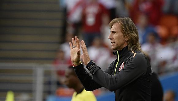 El director técnico de Perú quedó muy enojado por el resultado ante Dinamarca, que marcó el retorno de la Blanquirroja a una Copa del Mundo luego de 36 años de ausencia. (Foto: AFP)